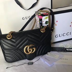 100% Authentic Gucci Marmont Small Matelasse Bag